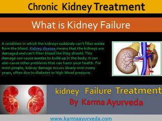 Chronic kidney failure