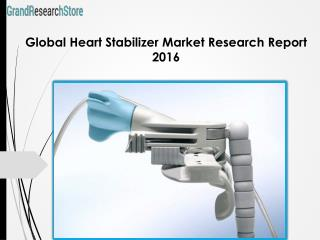 Global Heart Stabilizer Market Research Report 2016