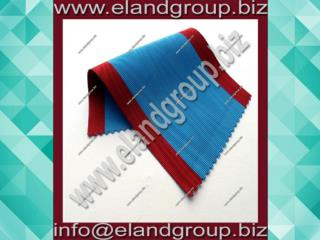 light Blue and Red Masonic Regalia Ribbon