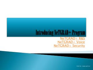 NeTGRAD Plus Program