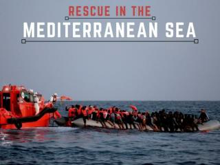 Rescue in the Mediterranean Sea