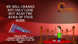 Carpet Cleaning NYC, Upholstery Cleaning NYC