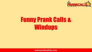 Kind of Hilarious Prank Calls