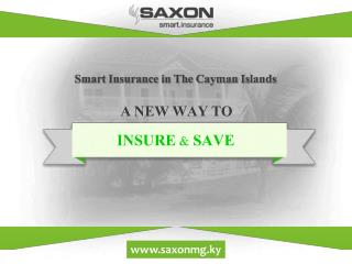A new smart way to insure and save in the Cayman Islands