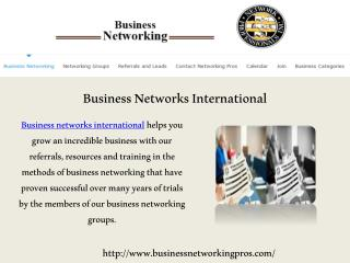 Small Business Referral Network