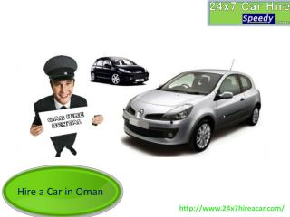 Best Car Rental Services in Oman