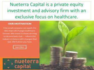 Nueterra Capital - Healthcare Consulting