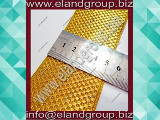 Gold Mylar Basket Lace