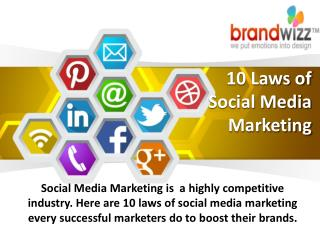 Socio Funda - 10 Laws of Social Media Marketing