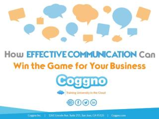 How Effective Communication can win the Game for Your Business