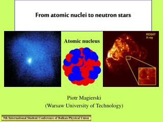 From atomic nuclei to neutron stars