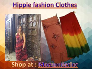 Hippie fashion Clothes By Mogulinterior