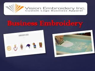Business Embroidery