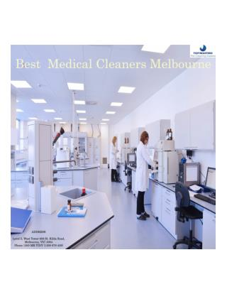 Medical Cleaning Services | Medical Cleaners Melbourne