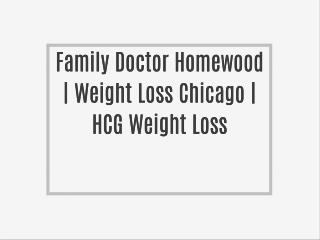 Family  DoctorHomewood