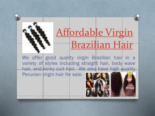 Virgin Hair Bundles For Cheap