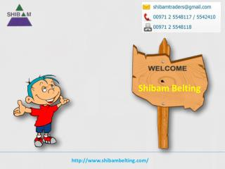 Shibam Belting supply Gates V belts in UAE
