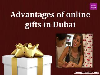 Advantages of Online Gifts in Dubai