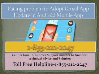 Gmail App Error-Call 1-855-212-2247 Gmail Customer Support Number