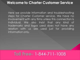 charter customer service phone number
