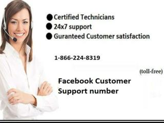 Dial Facebook customer support Number 1-866-224-8319 to Acquire Instant Help