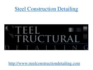 Steel Structural Shop Drawing Detailing
