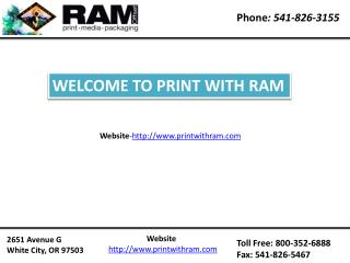 Brochure printing oregon