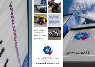 Carsincamera Your Complete service provider......