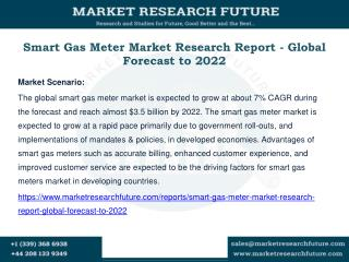Smart Gas Meter Market Research Report - Global Forecast to 2022