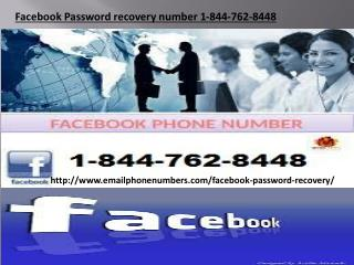 Facebook Password recovery number 1-844-762-8448 Facebook  Password Recovery number