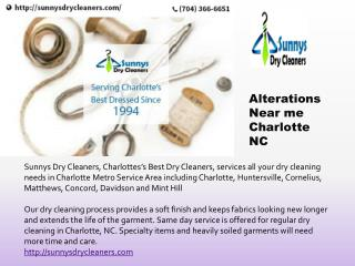 Alterations Near me Charlotte NC | Laundry Services in Charlotte NC