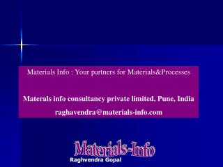 Materials info consultancy private limited