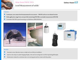Level Measurement of solids
