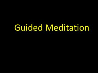 Timeless Awareness -- A Self-Guided Meditation