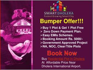 Buy Plots in Smart City Dholera SIR