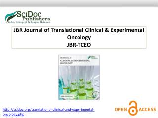 JBR Journal of Translational Clinical & Experimental Oncology