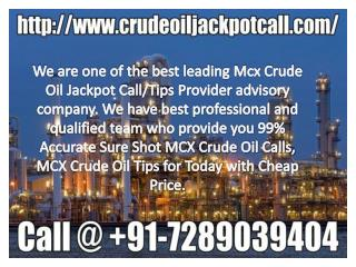 Crude oil Best Trading Tips