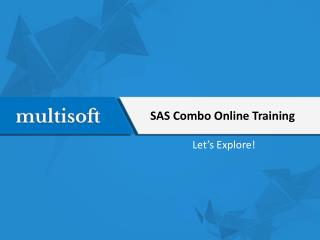 SAS Combo Online Training
