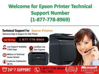 Technical expert    (1-877-778-8969)    for Epson Printer Tech Support Phone number