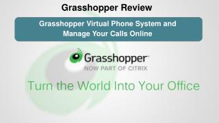 Grasshopper Review: Grasshopper Virtual Phone System and Manage Your Calls Online