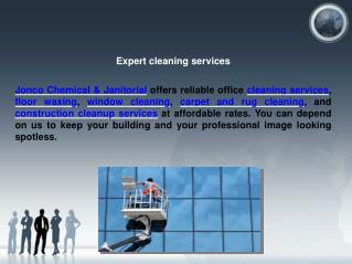 Commercial Office Cleaning, Janitorial Service and Building clean-up Columbus OH