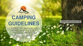GO Outdoors Beginners guide to camping