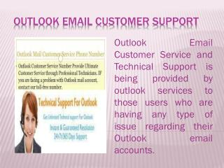Outlook Mail Customer Service and Technical Support