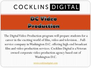 Dc video production