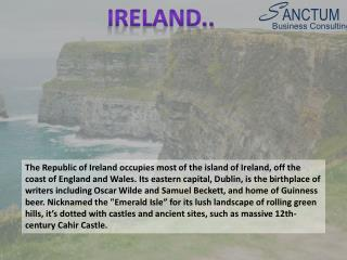 Apply for Ireland Visa|Visit/Tourist