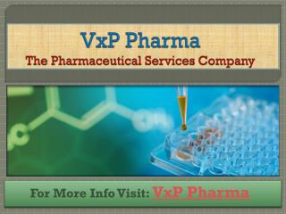 Manufacturing of Better Liquid Oral Suspension at VxP Pharma
