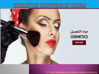 Cosmetics shopping in Qatar