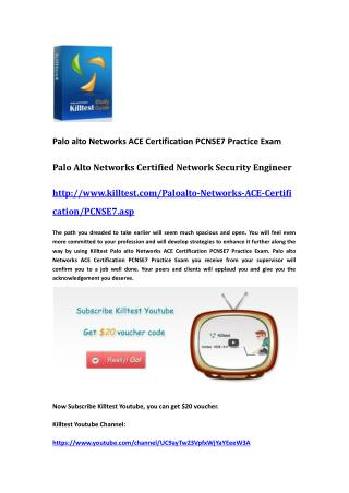 Palo Alto Networks Certification PCNSE7 Questions and Answers