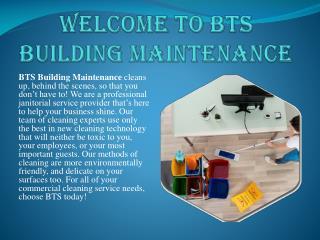 BTS Building Maintenance