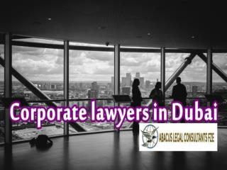 Corporate Advocates in Dubai